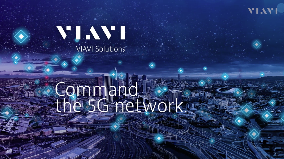 Title Slide - Command the 5G Network